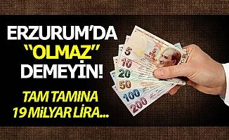 """Erzurum'da """"olmaz"""" demeyin!"""