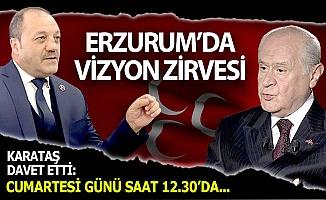 MHP'den büyük Erzurum buluşması
