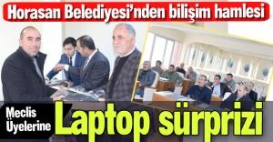 Meclis üyelerine bilgisayar...