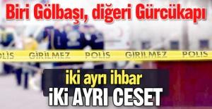 Erzurum'da iki ihbar, iki ceset!