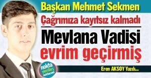 Alkışlar Mehmet Sekmen'e...