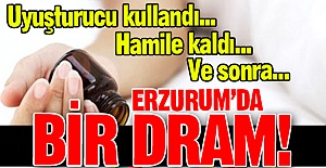 Erzurum'da bir dram!