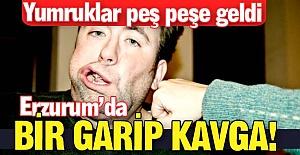 Erzurum'da bir garip kavga!