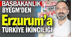 Türkiye 2'ncisi oldu...
