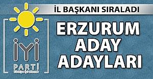 Erzurum İYİ Parti'de son durum!..