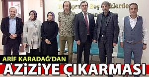Karadağ'dan Aziziye çıkarması