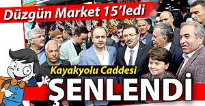 Düzgün Marketler Grubu 15'ledi!..