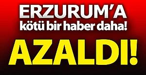 Erzurum'a bir kötü haber daha!..