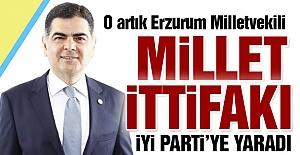 O artık Erzurum Milletvekili