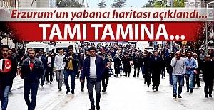 Erzurum'da tamı tamına!..