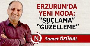 Erzurum'da yeni moda şimdi bu!..