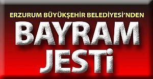 Büyükşehir'den Erzurum'a bayram jesti
