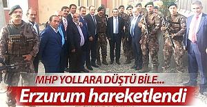 Erzurum'da hareket zamanı!..