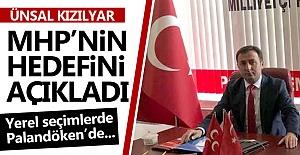 Kızılyar, MHP'nin hedefini açıkladı