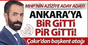 Ankara'ya bir gitti, pir gitti!