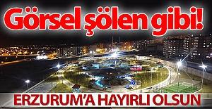 Erzurum'da görsel ziyafet!..