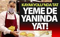 Künefeci Ahmet Usta Kayakyolu'nda