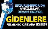 Erzurumspor#039;da bir yol ayrılığı daha!