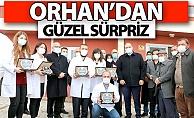 Başkan Orhan'dan güzel sürpriz!