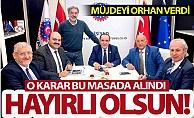 Erzurum#039;a müjdeyi Başkan Orhan verdi