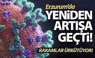 Erzurum'da yeniden artışa geçti!